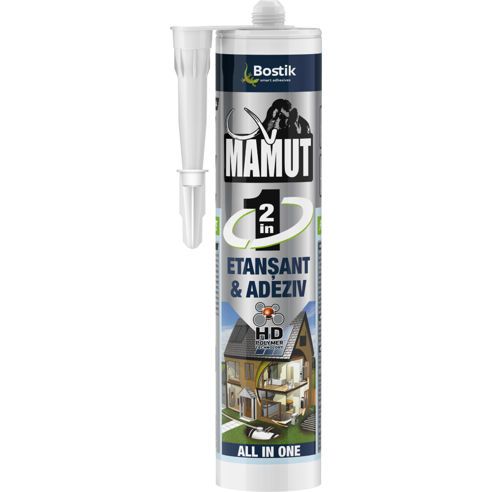 Mamut etansant si adeziv 2 in 1, alb, 290 ml mathaus 2021
