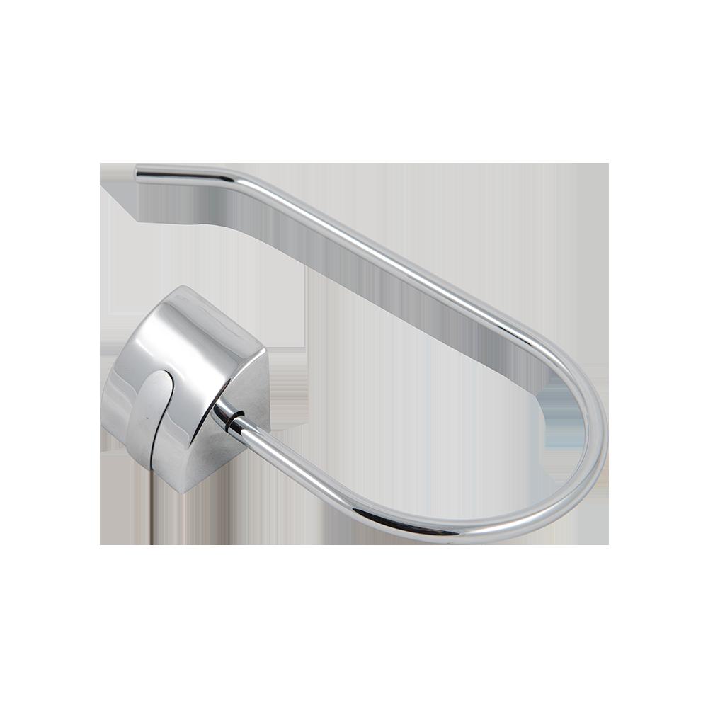 Portprosop inelar Ferro Cascata, cromat, 60 cm imagine MatHaus.ro