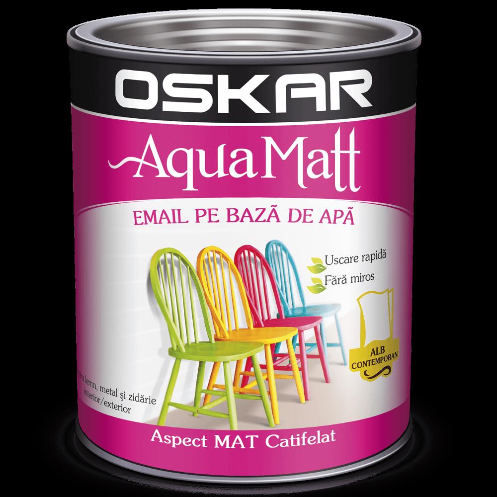 Email Oskar Aqua Matt, alb contemporan, 2,5 kg imagine MatHaus.ro