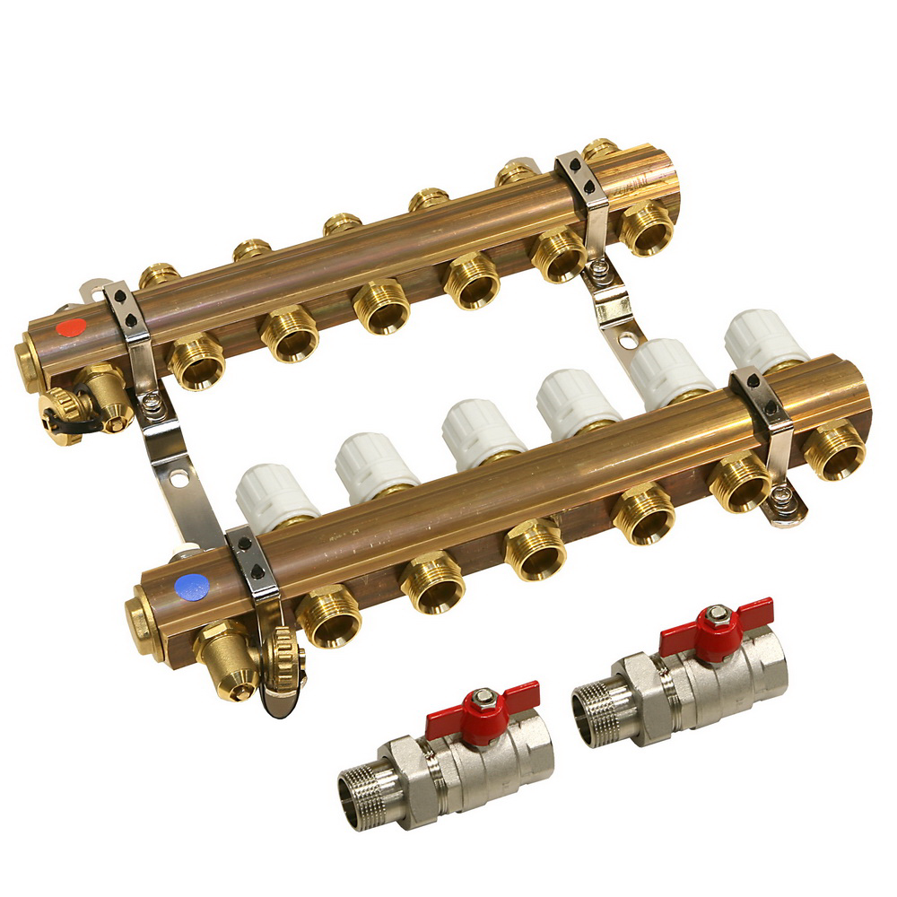 Set distribuitori Ferro RZ06, 1 inch 6 circuite