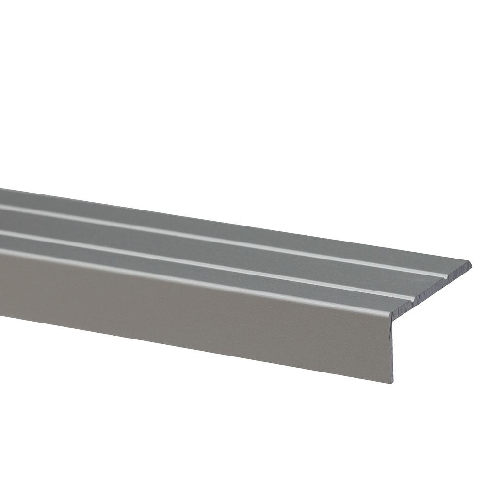 Profil pentru treapta cu surub Set Prod S46 cu latime 25 mm, argintiu, 3 m imagine 2021 mathaus