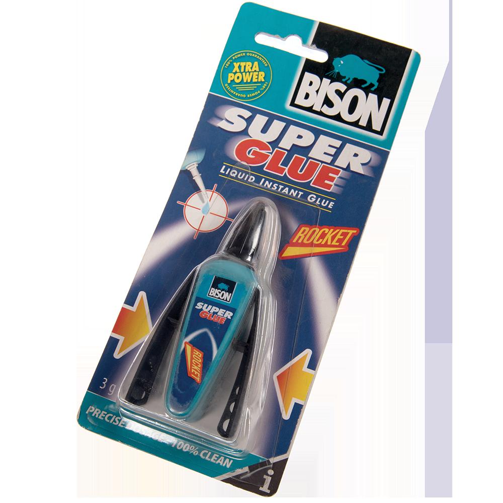 Bison Super Glue Rocket Pen 3 g