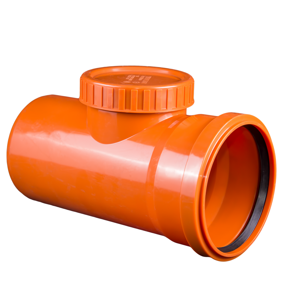 Piesa inspectie pentru  canalizare exterioara Valplast, PVC, 125 mm mathaus 2021