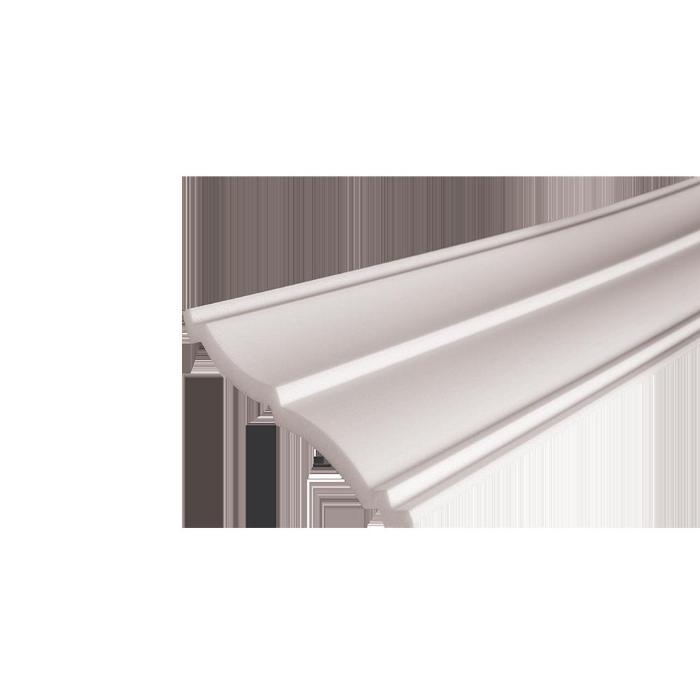 Bagheta decorativa EP17, alb, polistiren extrudat, 120x120 mm, 2 m
