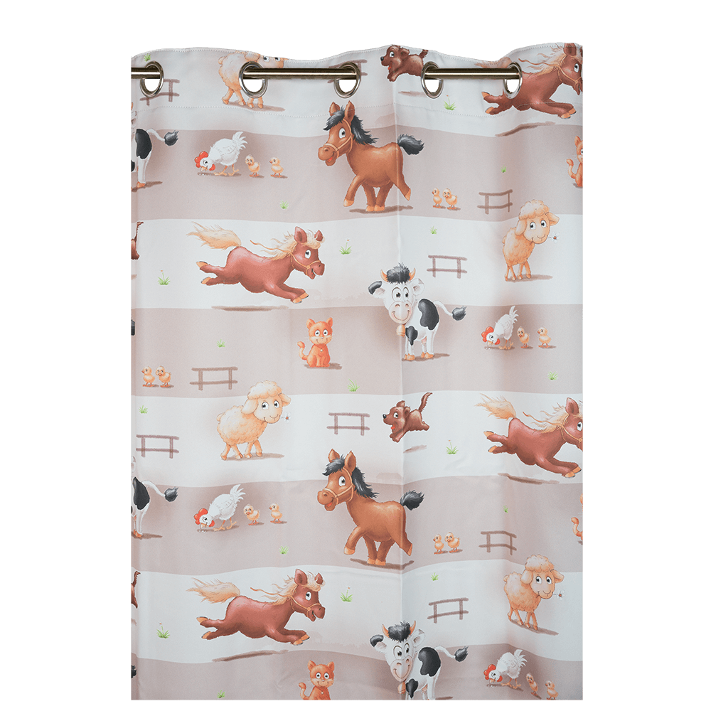 Draperie Farm, Dimout Print, 140x245 cm, 100% polyester