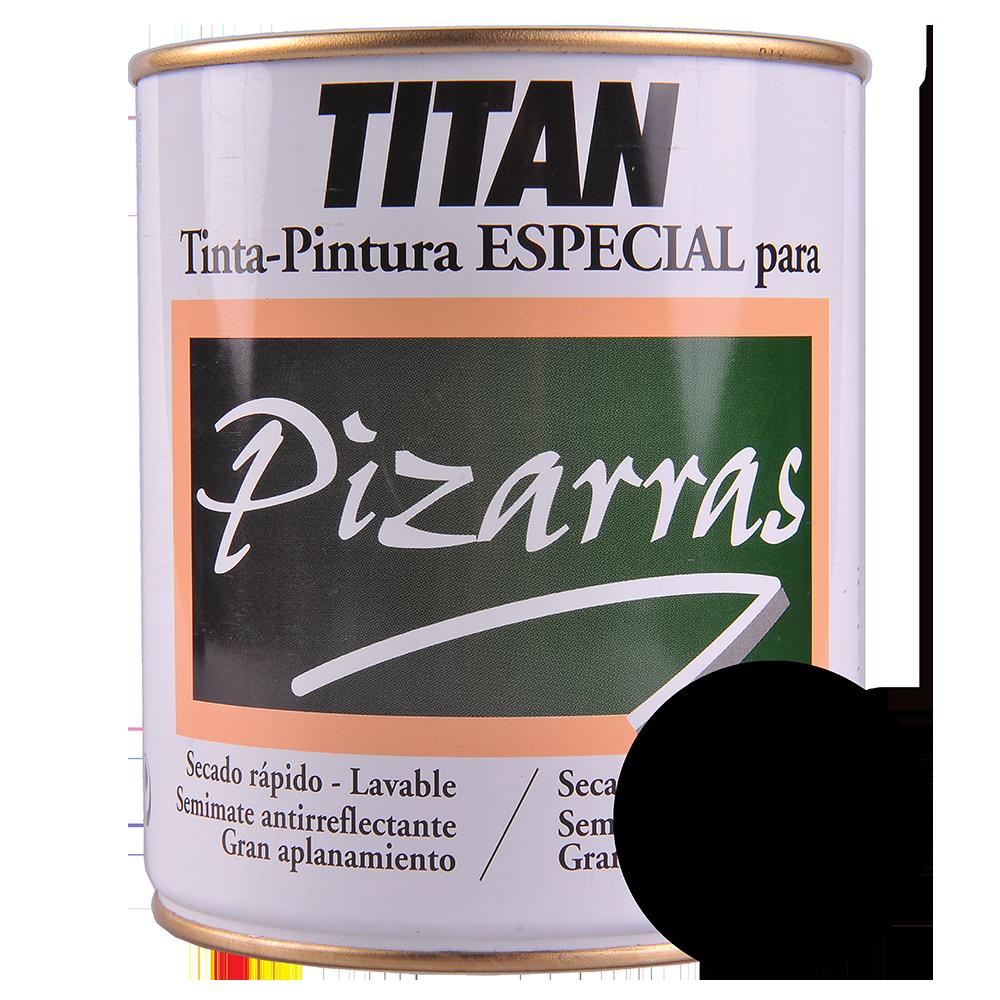 Vopsea sintetica semi-mata Titan blackboard 750 ml