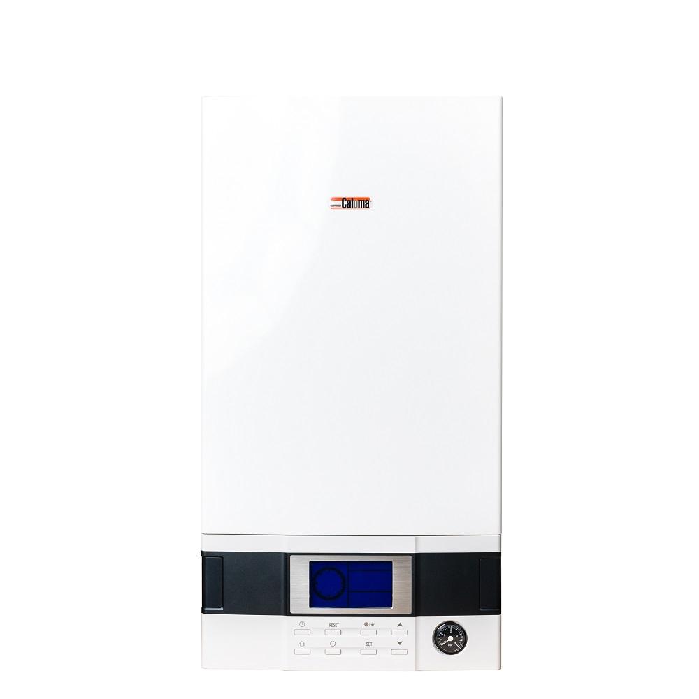 Centrala termica pe gaz, in condensatie, Caloma, IPX4D, 32 kW, kit de evacuare inclus, termostat Wifi Cloud imagine MatHaus.ro