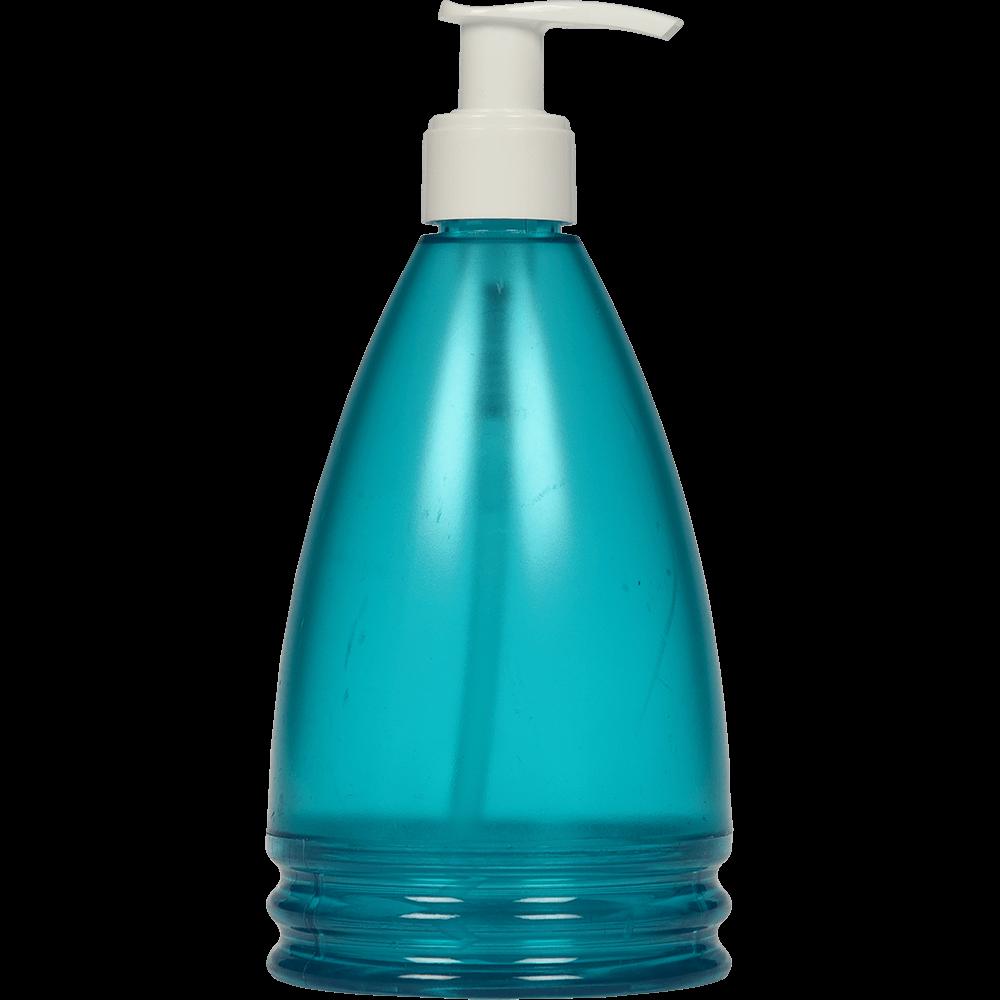 Dozator sapun lichid Aqua Turquoise, plastic, turcoaz, 17,5 x 8 x 8 cm