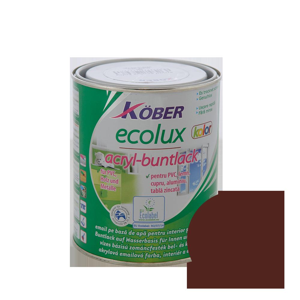 Email Ecolux Kolor maro roscat 0,75 L imagine MatHaus.ro