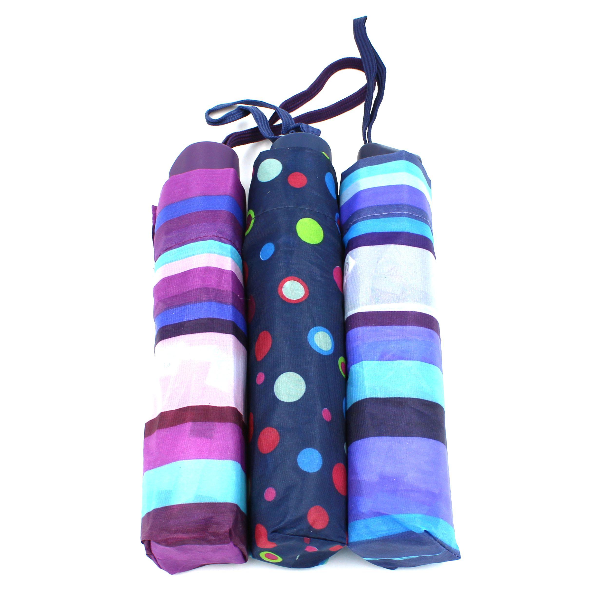 Umbrela deschidere manuala, Perletti,maner plastic, dungi/buline
