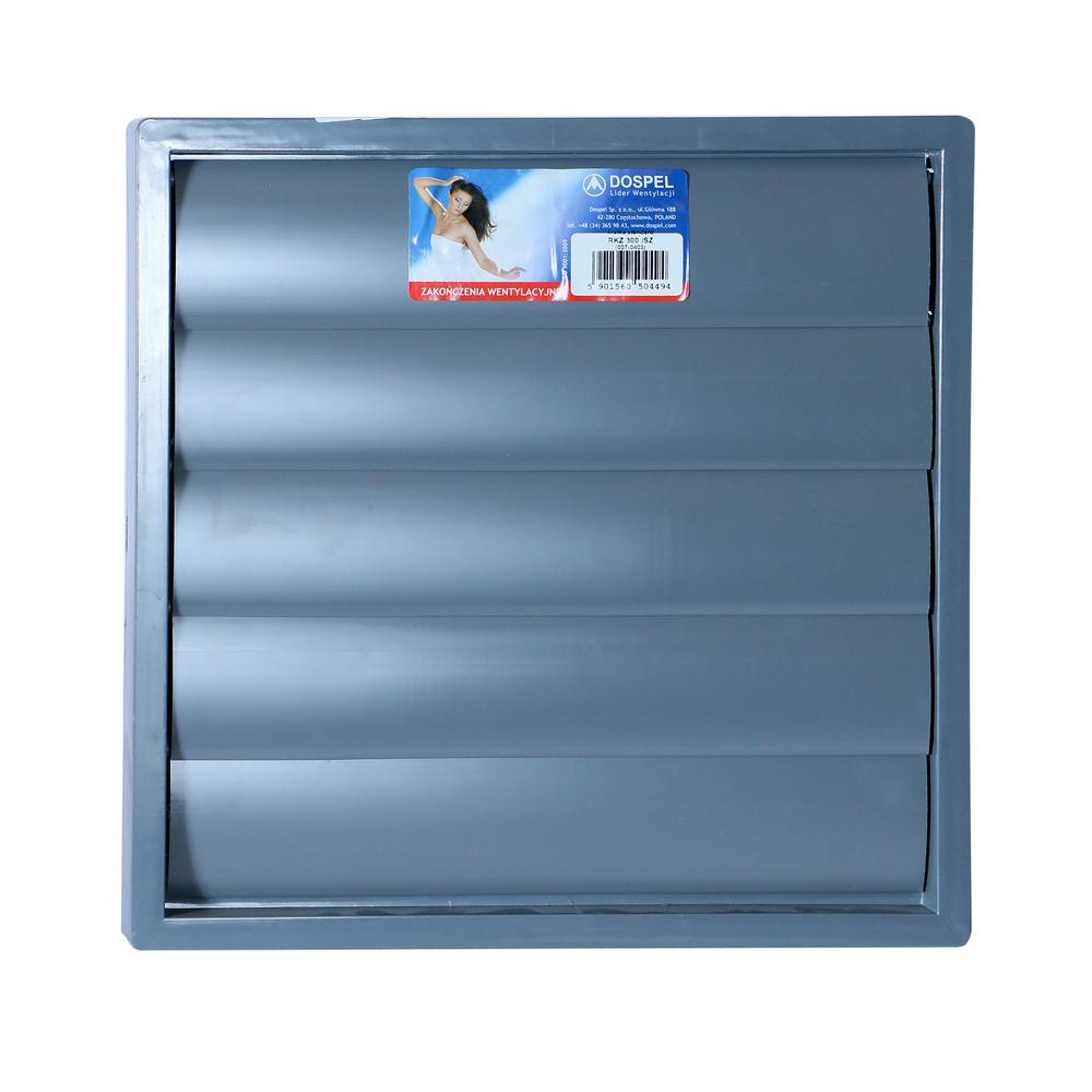 Grila ventilatie rectangulara cu jaluzele automate RKZ300 mathaus 2021