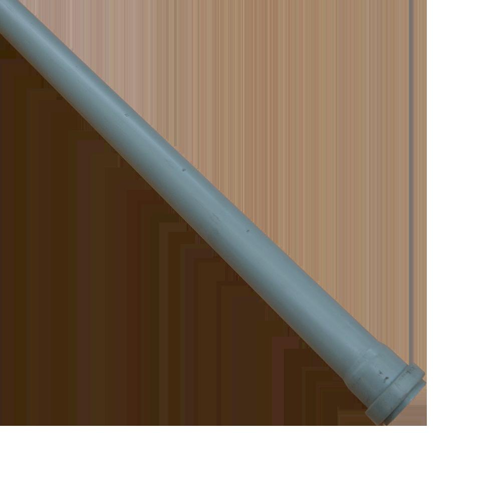 Tub Valplast, PVC, gri, diametru 50 mm, lungime 3 m