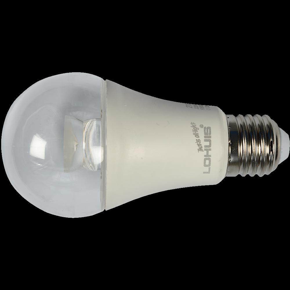 Bec Led Transparent E27 A60 7W Lohuis Lumina Rece mathaus 2021