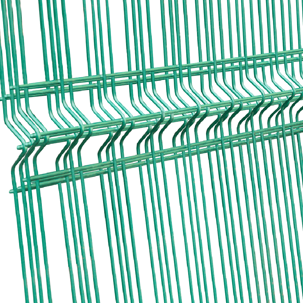 Panou gard plastifiat zincat bordurat verde 4,2x2000x2000mm imagine MatHaus.ro