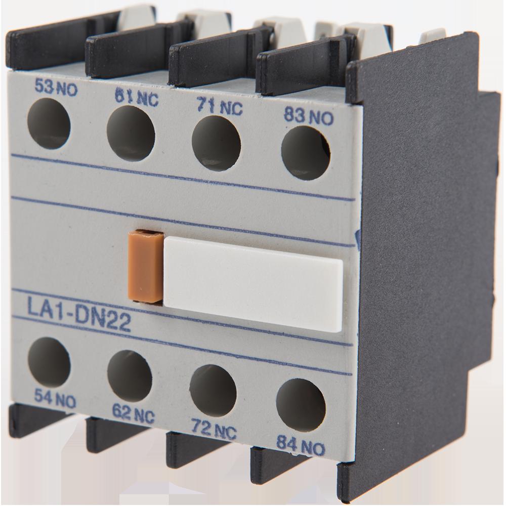 Contacte auxiliare pentru contactoare tip LA1-DN 22 imagine MatHaus.ro