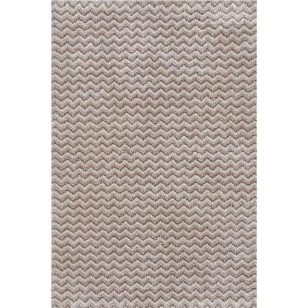 Covor modern Sintelon Stage 01 EDE, model elegant crem/bej, polipropilena si poliester, 120 x 170 cm