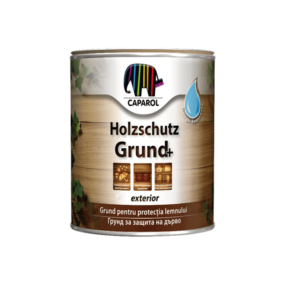 Grund Caparol HolzschutzGrund, incolor, 0,75 l