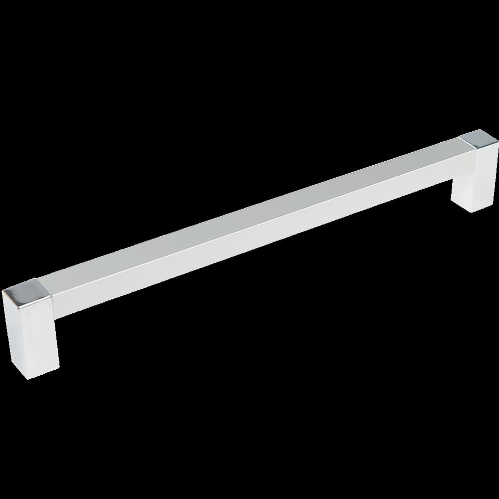 Maner din aluminiu cu terminatie FA23616 192 mm, crom mat mathaus 2021