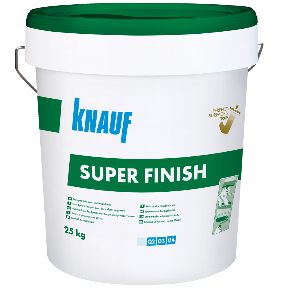 Glet universal Knauf Super Finish gata preparat 6 kg imagine 2021 mathaus