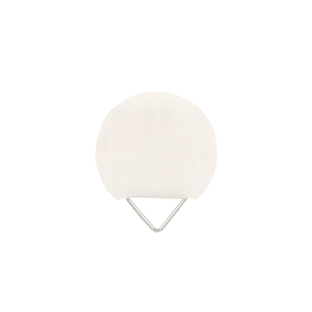 Agatator autoadeziv, plat, Ø 25 mm, alb, 10 buc mathaus 2021