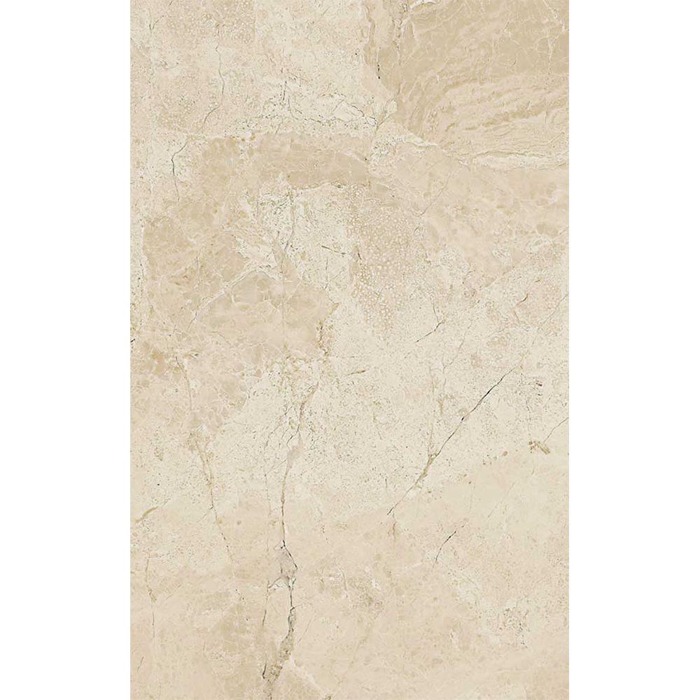 Faianta Cesarom Baccarin, bej deschis, aspect de marmura, lucioasa,  25.2 x 40.2 cm imagine MatHaus.ro