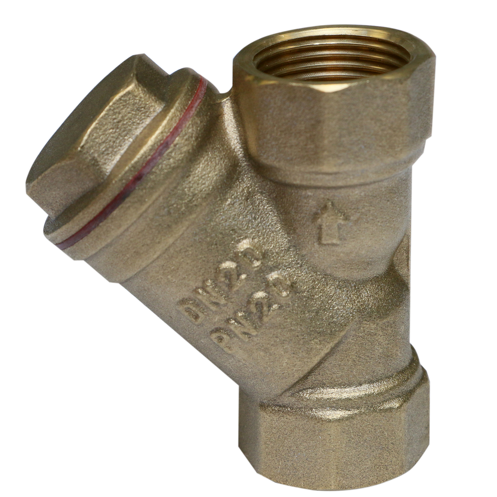 Filtru Y Ferro F03, alama, 3/4 inch imagine MatHaus.ro