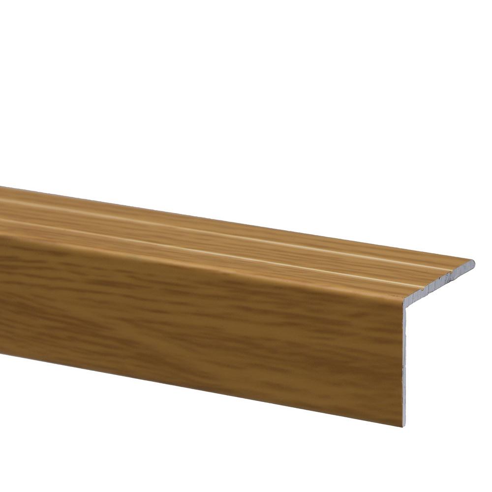 Profil pentru treapta cu surub Set Prod S45 cu latime 25 mm, stejar deschis, 1 m imagine 2021 mathaus