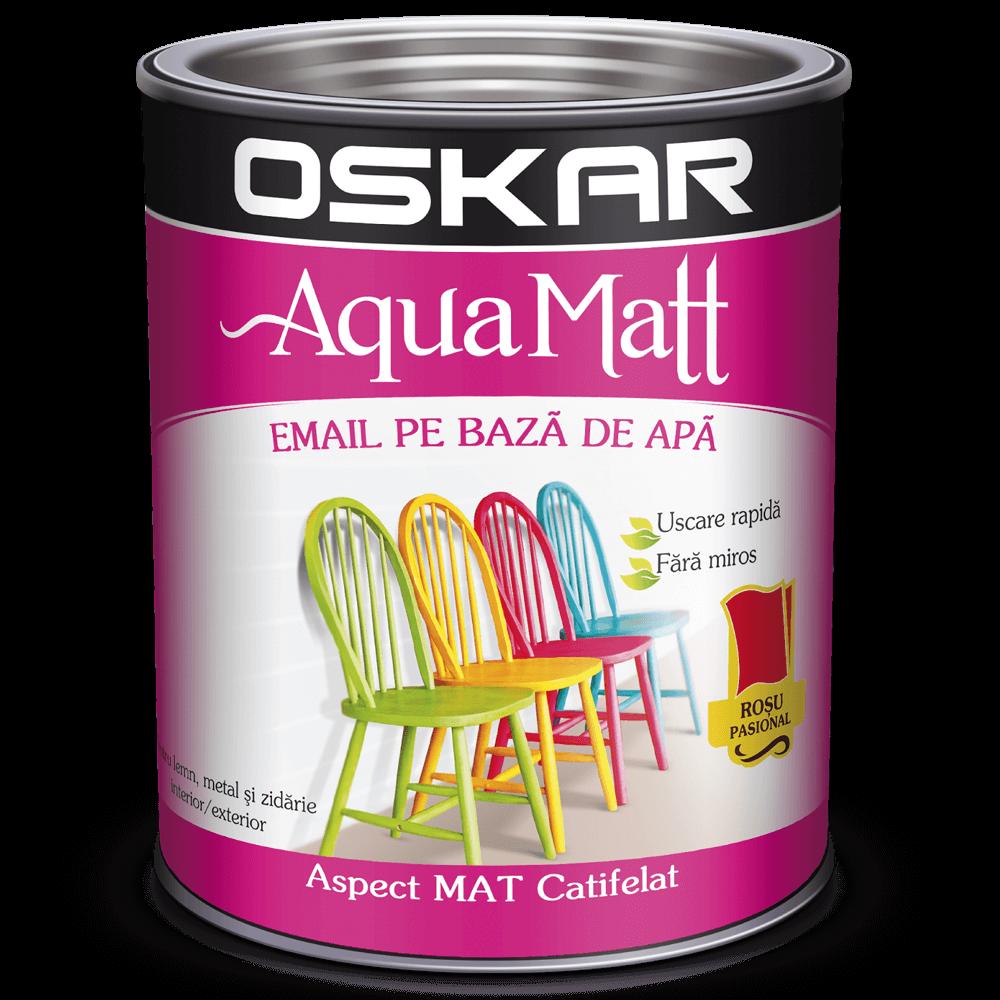 Email Oskar Aqua Matt rosu 0,6 L imagine 2021 mathaus