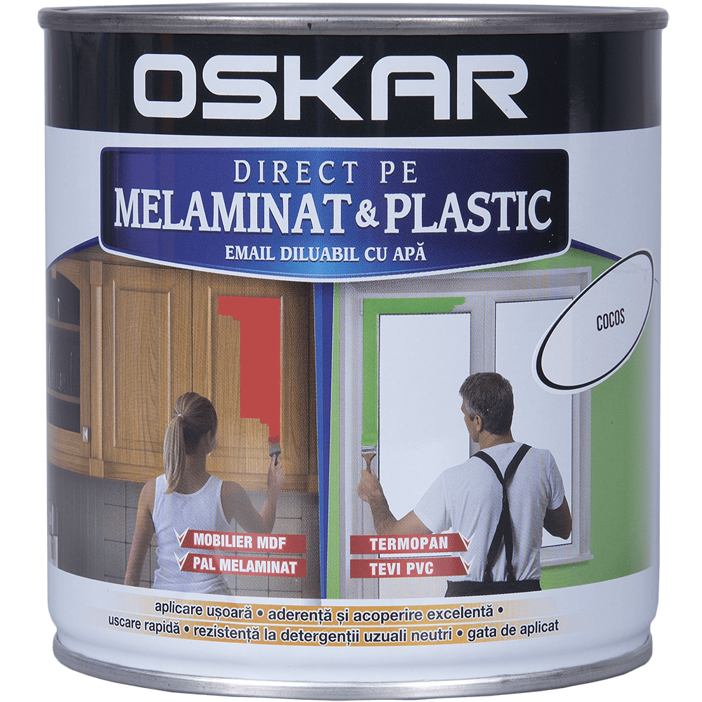 Email Oskar - Direct pe melaminat si plastic cocos 0,6L