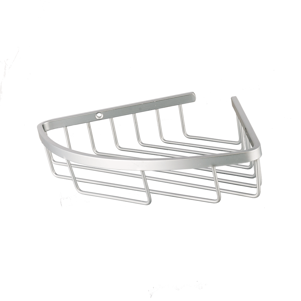 Coltar de baie Romtatay, aluminiu, alb, 1 raft, 22.5 x 22.5 x 4 cm mathaus 2021