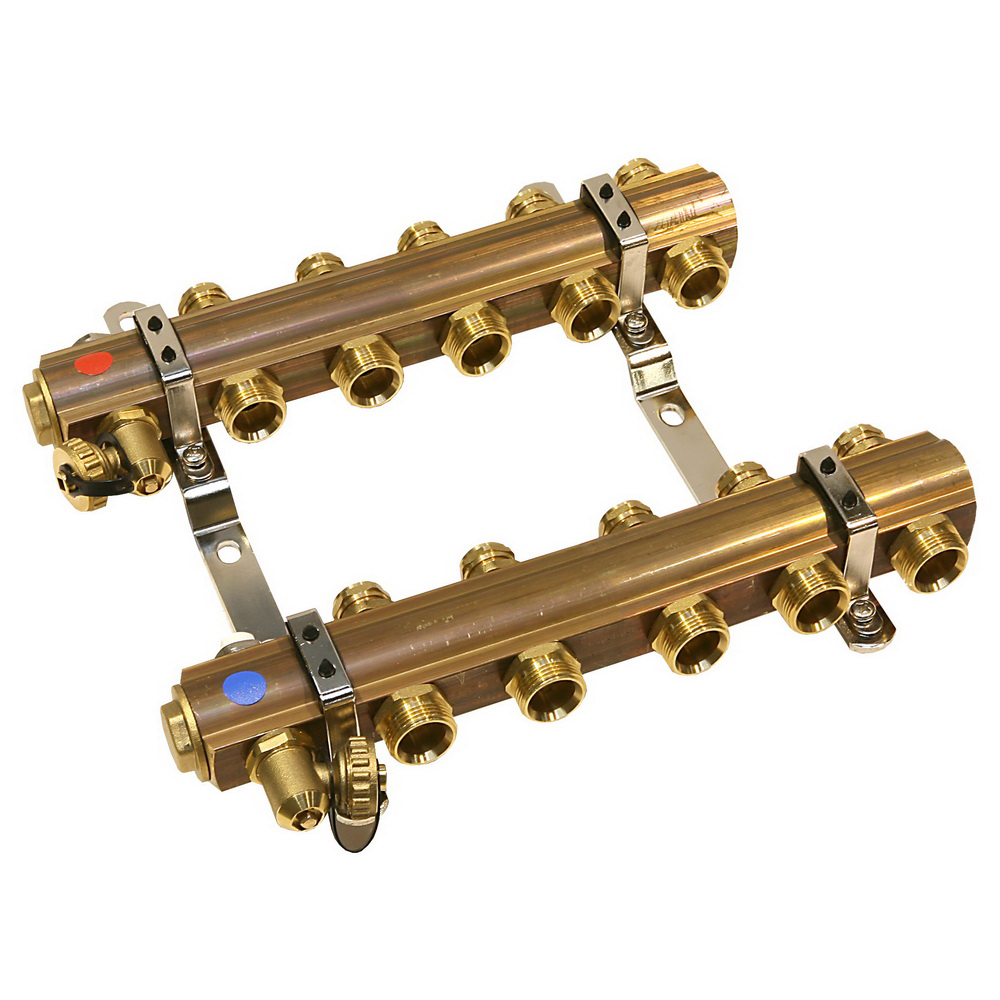 Distribuitor RO05S Ferro, 5 circuite, alama, 1 inch