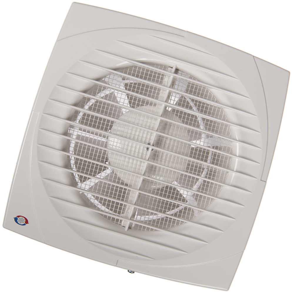 Ventilator de baie Vents DV, intreupator cu fir, D 150 mm, 24 W, 2400 rpm, 292 mc/h, alb mathaus 2021
