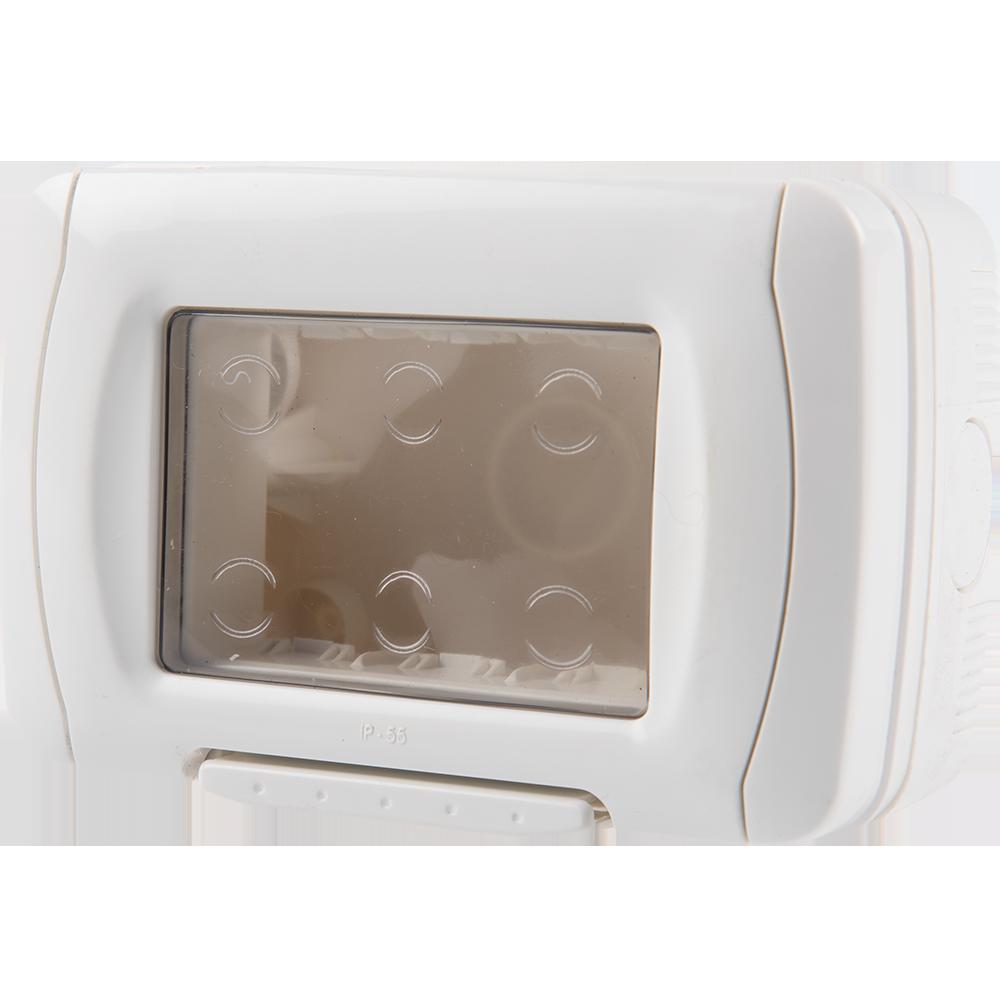Cutie montaj aparent cOMTEC 2000, 5033 Stil, IP55 imagine MatHaus.ro