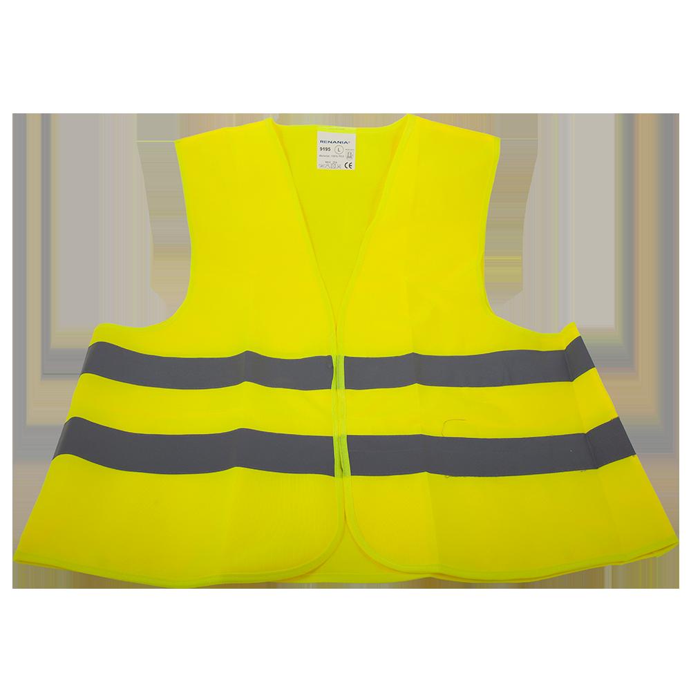 Vesta reflectorizanta 9195, galben fluorescent, marimea L imagine 2021 mathaus