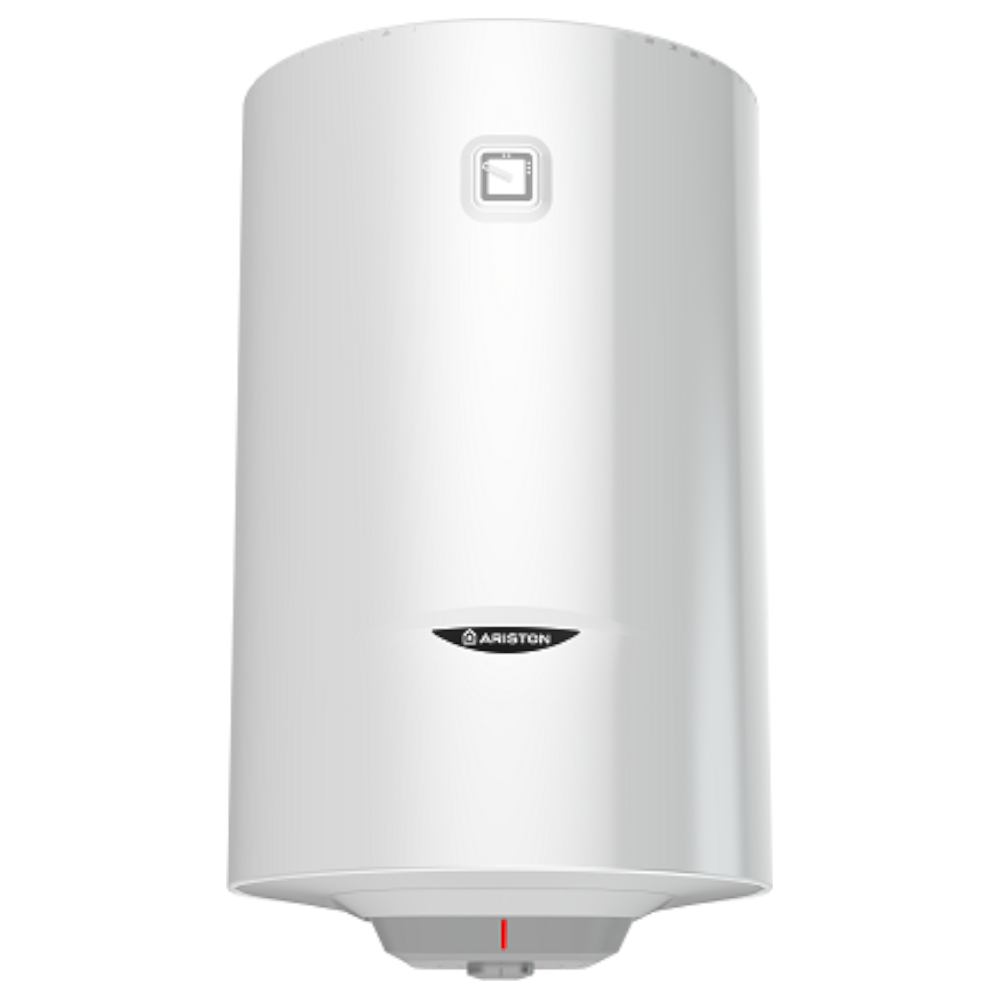 Boiler termoelectric Ariston Pro R 100 VDT, cu serpentina, 100 l, 1800 W, alb, diametru 45 cm, lungime 91,3 cm imagine 2021 mathaus