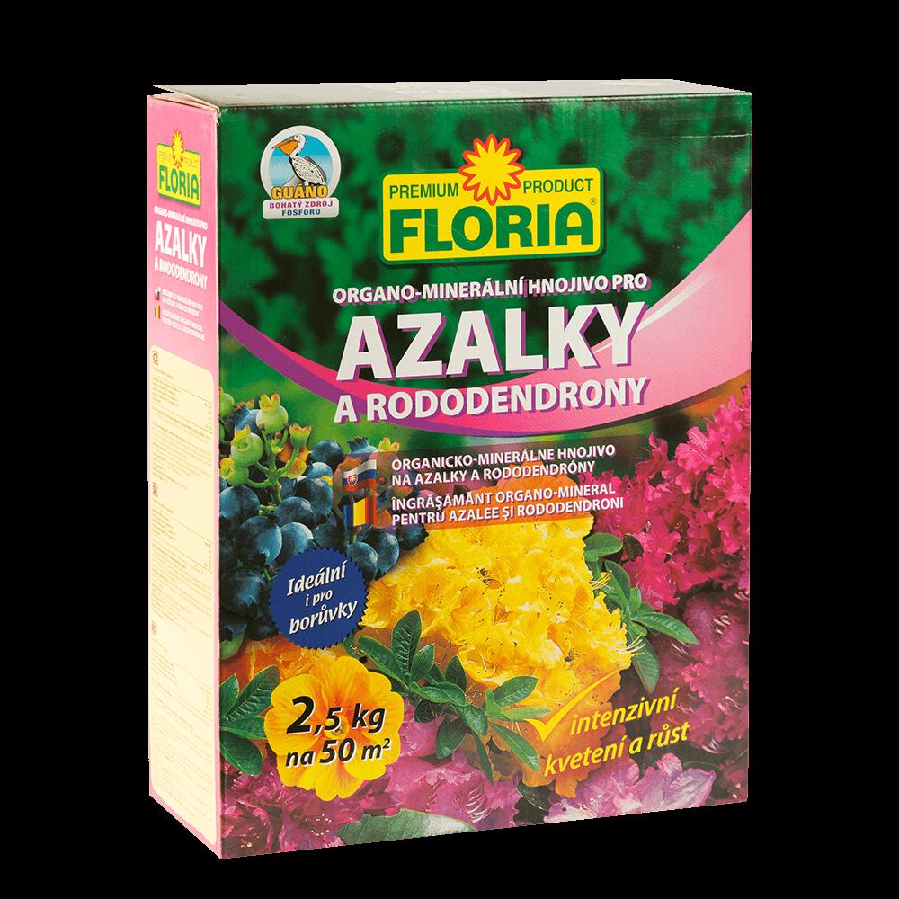 Ingrasamant granulat pentru azalee si rododendroni Floria, 2.5 kg