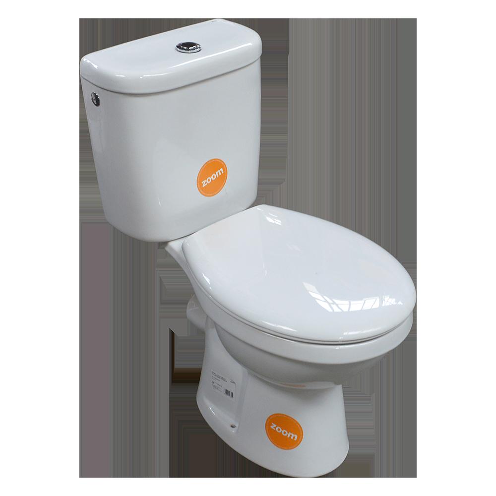 Set Combo WC + capac + rezervor Roca Uno Duobloc, ceramica sanitara, alb mathaus 2021
