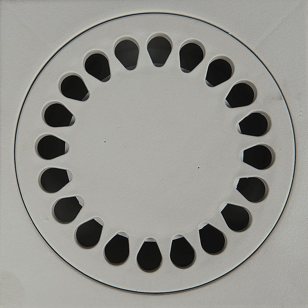 Sifon pardoseala Eurociere, inox, 20 x 20 cm