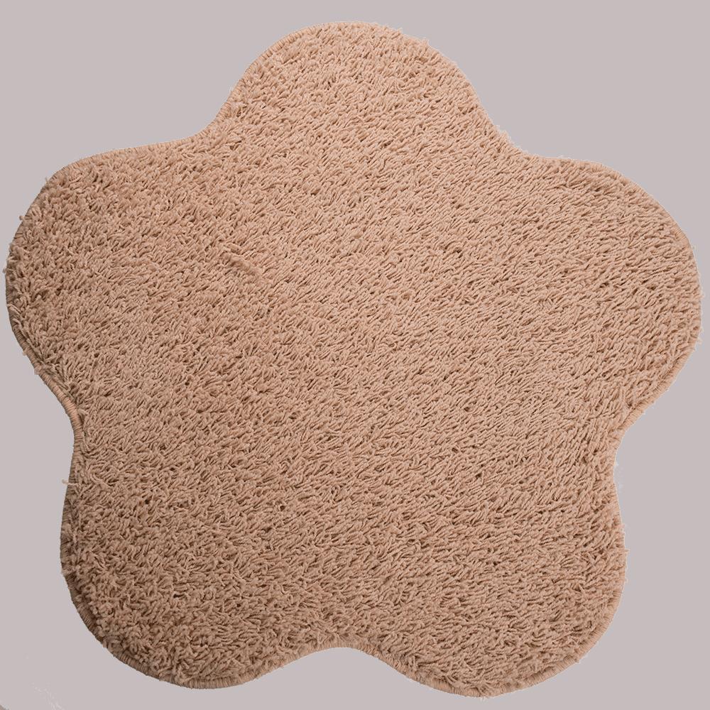 Covor modern Mistral, polipropilena, model floare, ivory 69, 80 cm mathaus 2021