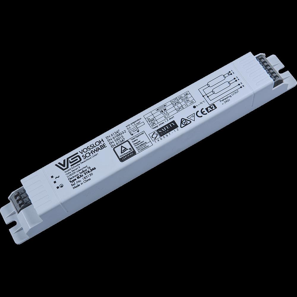 Balast electronic Lohuis, B2, 2 x 18 W, 41 x 26 x 155 mm