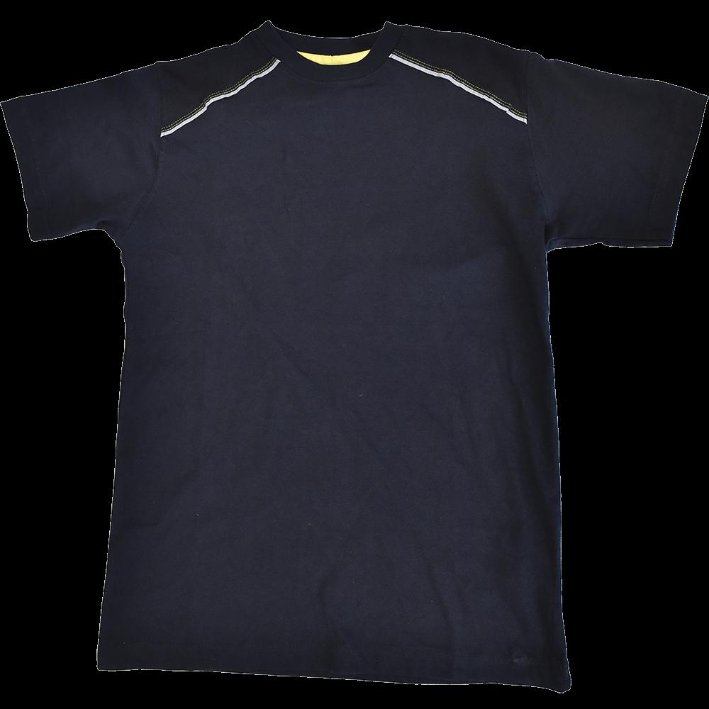 Tricoul Knoxfield, bumbac, marimea XL, gri / galben imagine MatHaus.ro