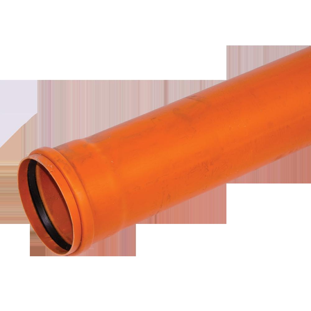 Conducta din PVC SN4 DN 125 mm x 4 m mathaus 2021