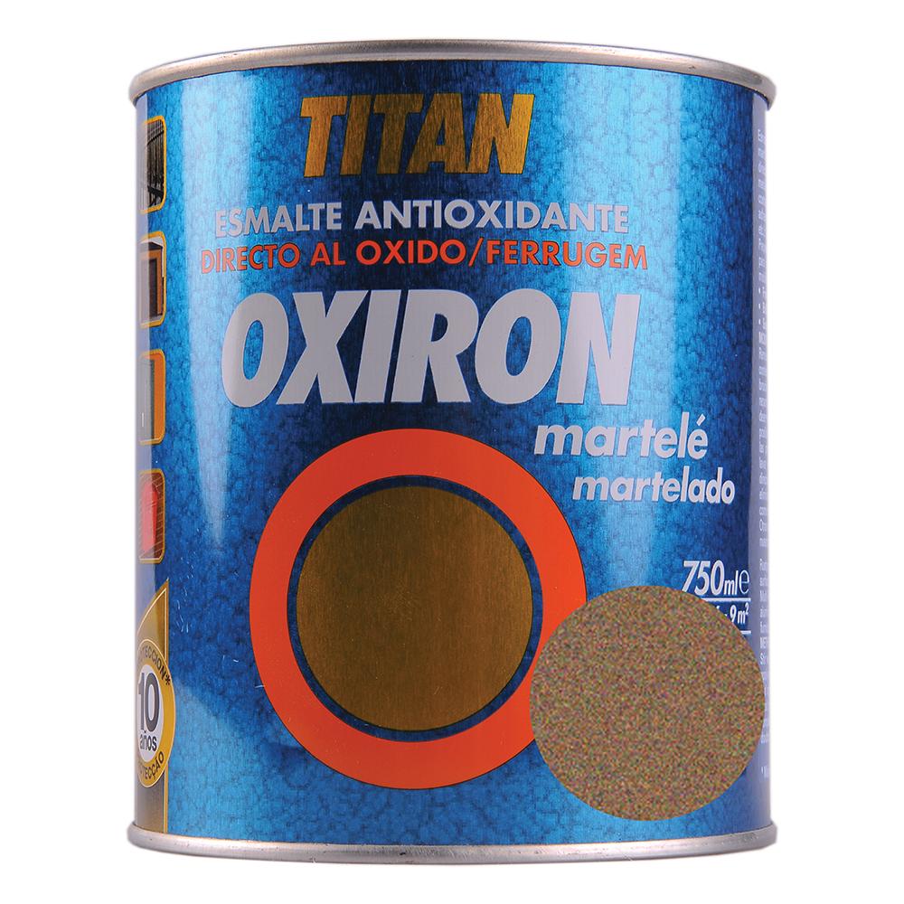 Email metal Titan Oxiron, fier forjat, auriu, interior/exterior/, 0,75 l