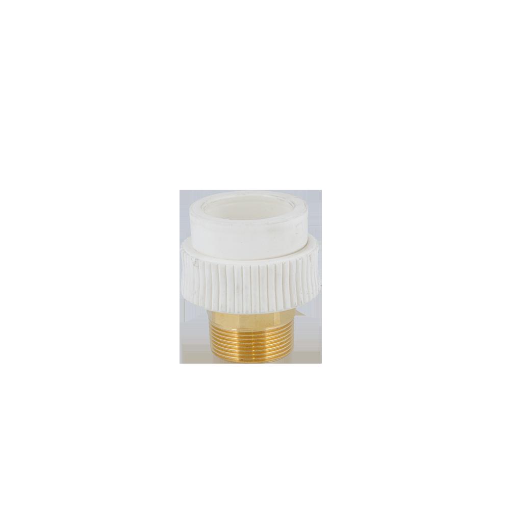 Mufa Supratherm, PP-R, filet exterior, 50 mm x 1 1/2 inch