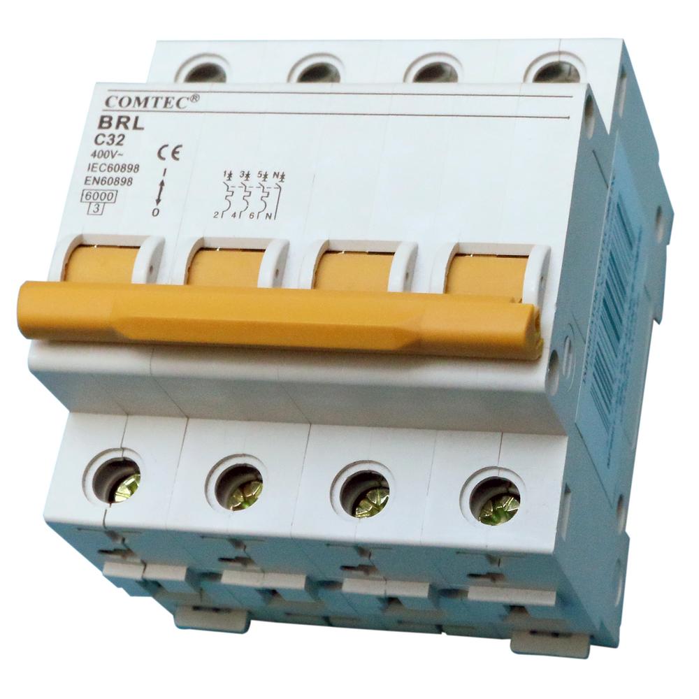 Intrerupator automat MCB 6KA,32/3N/C imagine MatHaus.ro