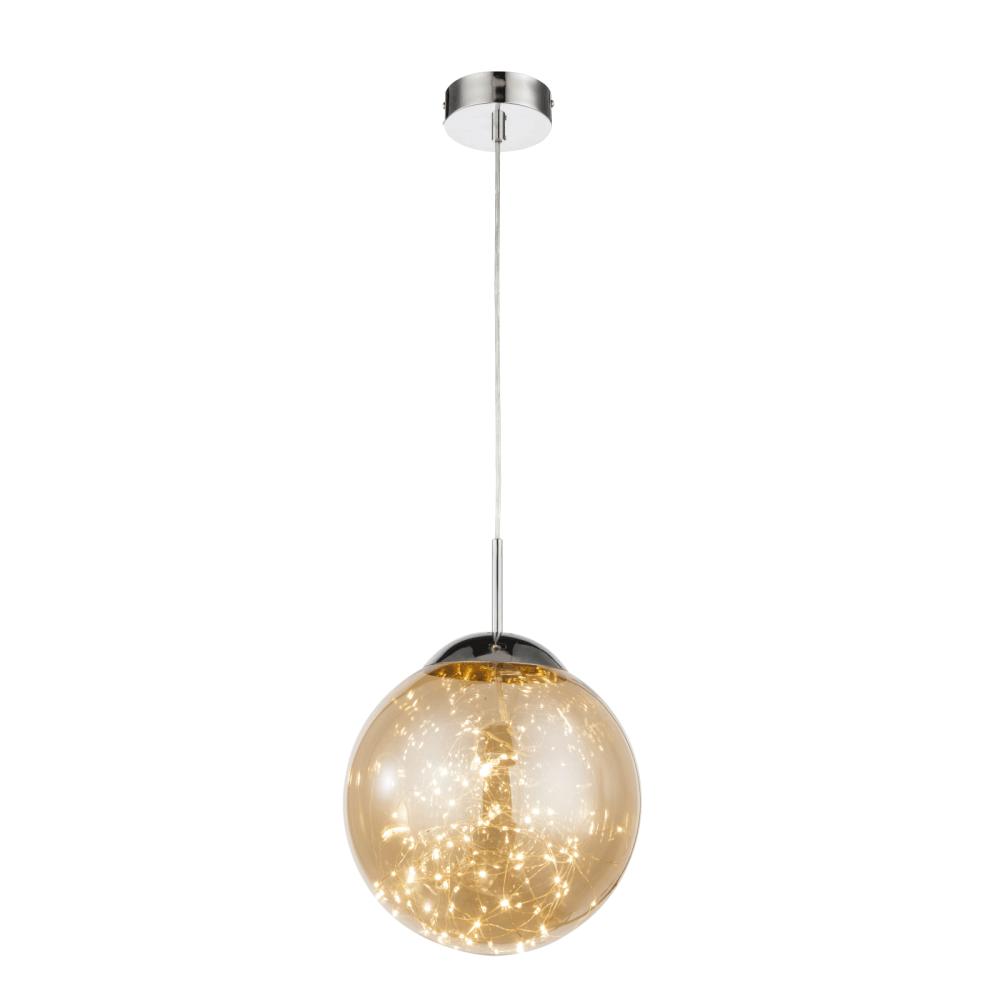 Suspensie Manam, 1 x LED, 12W, aurie, 1120 lm mathaus 2021