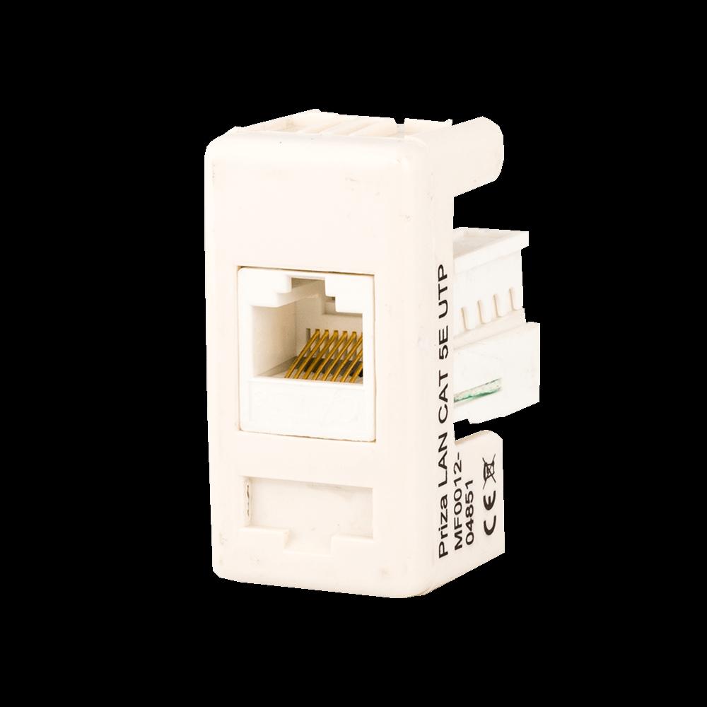 Priza modulara Comtec UTP, categoria 5E, alba imagine 2021 mathaus