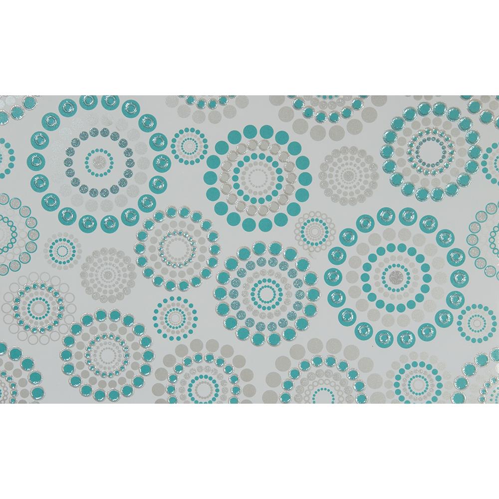 Decor interior turquoise Momanenti, 25,2 x 40,2 cm