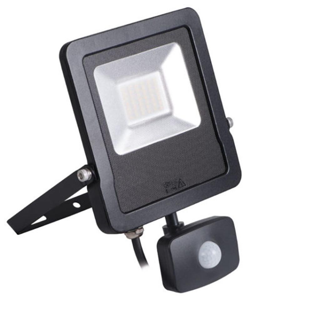 Proiector LED cu senzor de miscare Antos Kanlux 27094, 10W NWB IP65 imagine 2021 mathaus