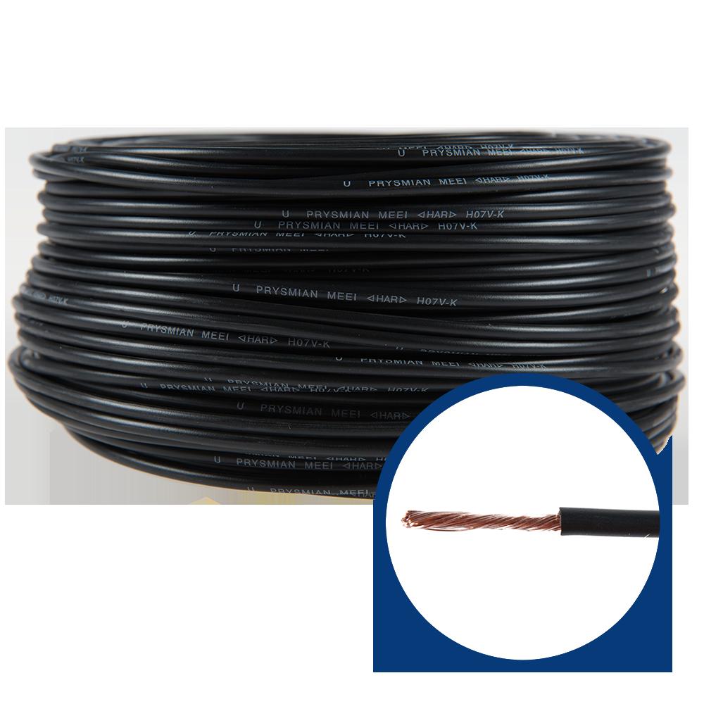 Conductor electric MYF / H07V-K 2,5 mmp negru imagine 2021 mathaus